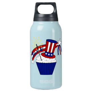 American Independence Day Celebrations Insulated Water Bottle