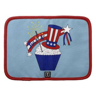 American Independence Day Celebrations Folio Planners