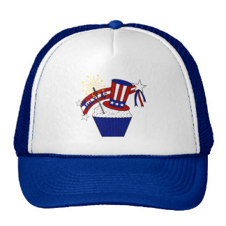 American Independence Day Celebrations Trucker Hat