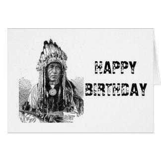 American Indian Card