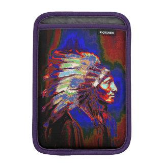 American Indian Chief Graphic iPad Mini Sleeve