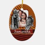 American Indian chiefs Ceramic Ornament