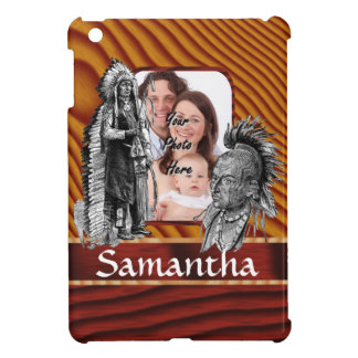 American Indian chiefs iPad Mini Cases