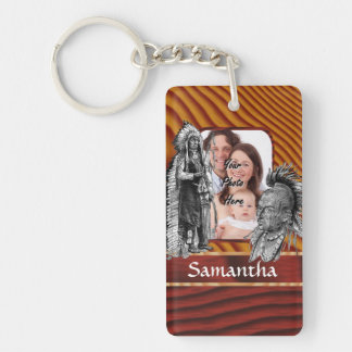 American Indian chiefs Keychain