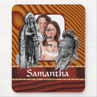 American Indian chiefs Mouse Pad