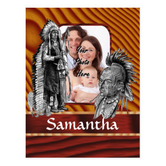 American Indian chiefs Postcard