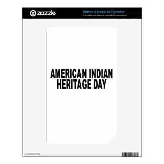 American Indian Heritage Day.png Decals For NOOK Color
