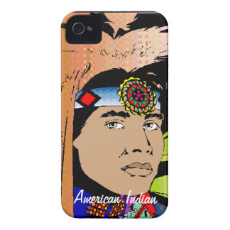 American Indian iPhone 4 Case-Mate Case
