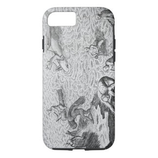 American Indian method of whaling, from an account iPhone 7 Case