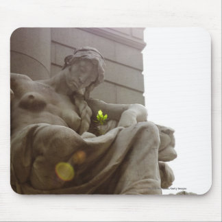 American Indian National Museum Statue Mouse Pad