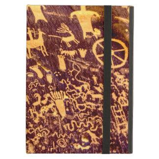 American Indian Newspaper Rock Petroglyph Ancient iPad Air Cover