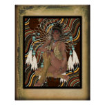 American Indian Princess Poster