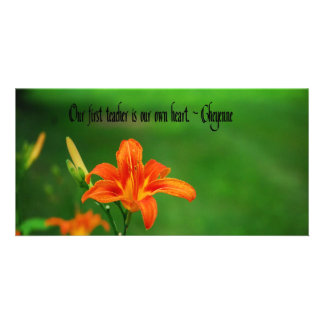 American Indian Proverb Photo Card