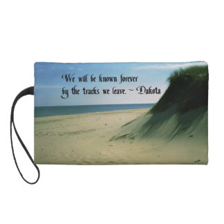 American Indian Proverb Wristlet