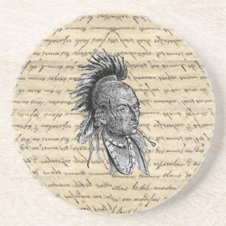 American Indian Sandstone Coaster