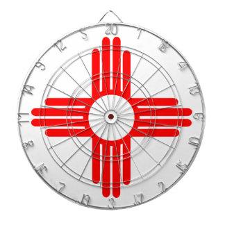 American Indian Sun Symbol Dartboards