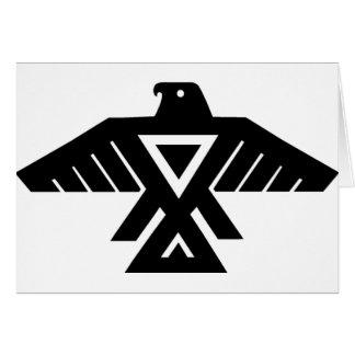 American Indian Thunderbird Totem Card