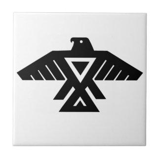 American Indian Thunderbird Totem Ceramic Tile