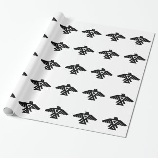 American Indian Thunderbird Totem Wrapping Paper