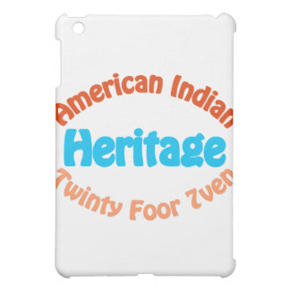 American Indian - Twinty Foor 7ven iPad Mini Cover