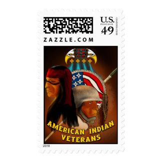 American Indian Veterans Postage Stamp