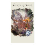 American Indian Wedding Night Vignette Business Card Template