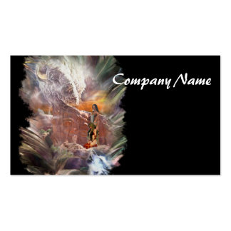 American Indian Wedding Night Vignette Double-Sided Standard Business Cards (Pack Of 100)