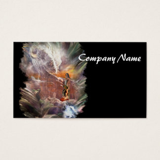 American Indian Wedding Night Vignette Business Card