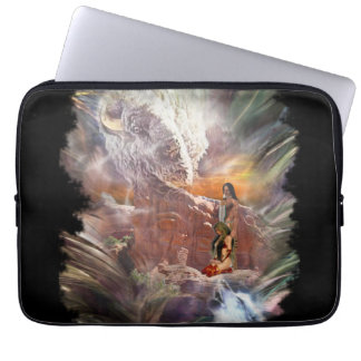 American Indian Wedding Night Vignette Laptop Computer Sleeves