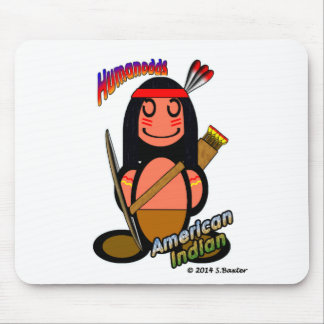 American Indian (with logos) Mouse Pad