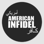 American Infidel Stickers