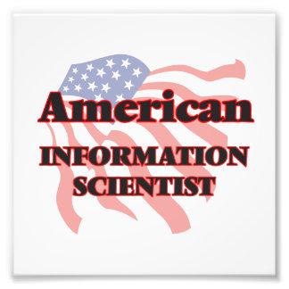 American Information Scientist Photo Print