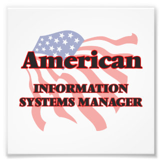 American Information Systems Manager Photo Print