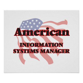 American Information Systems Manager Poster