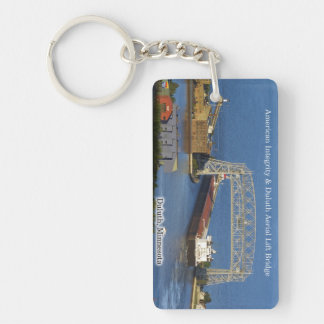 American Integrity Duluth rect. acrylic key chain
