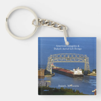 American Integrity in Duluth key chain