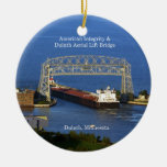 American Integrity in Duluth ornament