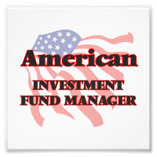 American Investment Fund Manager Photo Print