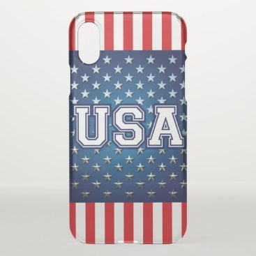 USA Themed American iPhone X Case