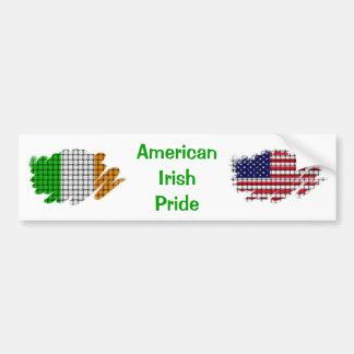 American Irish Pride Bumper Stickers