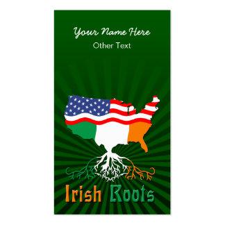 American Irish Roots Custom Business Cards