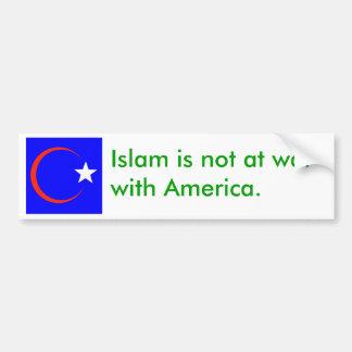 american islam 2 bumper sticker