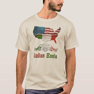 American Italian Ancestry Men's T-Shirts