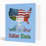 American Italian Roots Binder