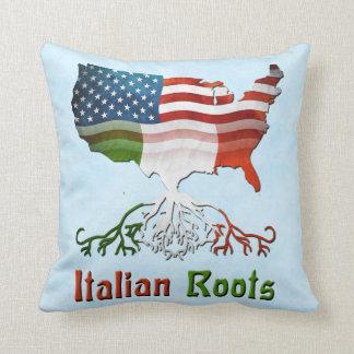 American Italian Roots Pillows