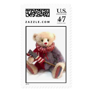 American Jester Bear   Postage Stamp