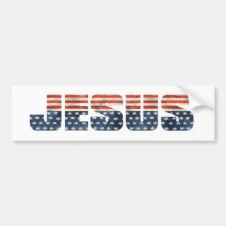 American Jesus Bumper Sticker