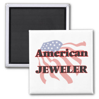American Jeweler 2 Inch Square Magnet
