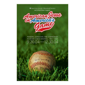 American Jews In America's Game Poster