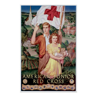 American Junior Red Cross Poster